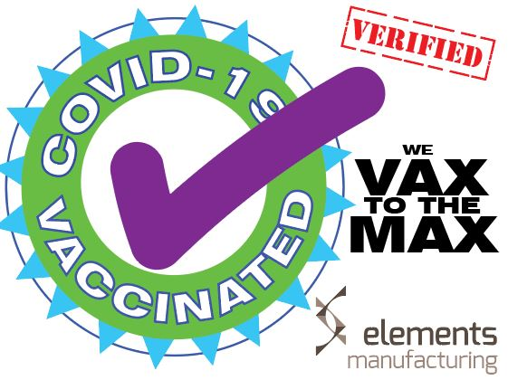 vaccinated against covid badge
